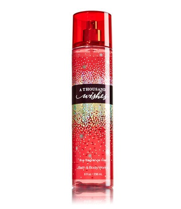 Bath & Body Works Signature Collection A THOUSAND WISHES Fine Fragrance Mist