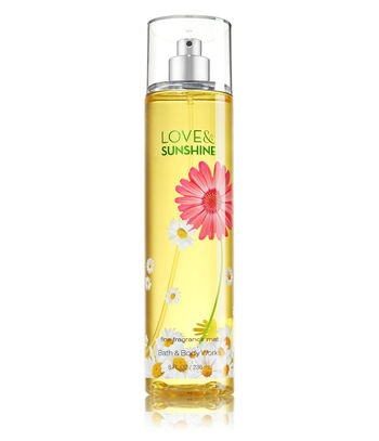 Bath & Body Works Signature Collection LOVE & SUNSHINE Fine Fragrance Mist
