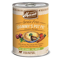 Merrick Gourmet Entree Grammy's Pot Pie Canned Dog Food