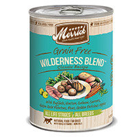 Super-dog Pet Food Company Merrick Gourmet Entree Wilderness Blend Canned Dog Food