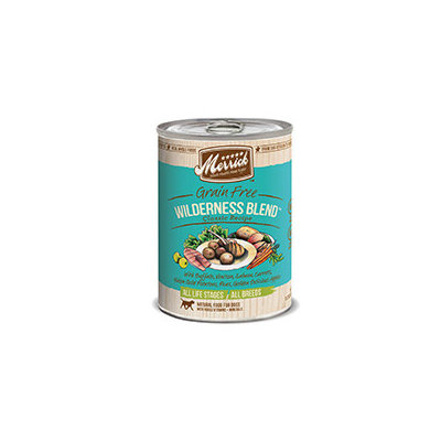 Super-dog Pet Food Company Merrick Gourmet Entree Wilderness Blend Canned Dog Food