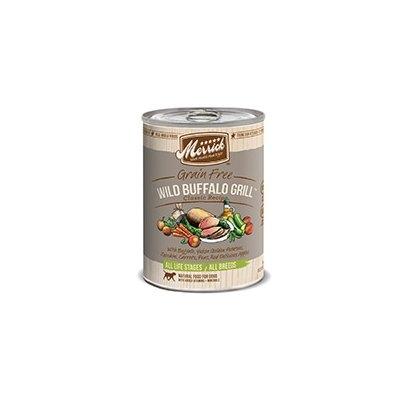 Super-dog Pet Food Company Merrick Wild Buffalo Grill Canned Dog Food Case