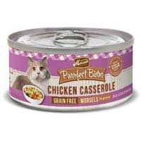 Merrick Purrfect Bistro Chicken Casserole Recipe Canned Cat Food 24/5.5-oz cans