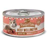 Merrick Purrfect Bistro Beef Wellington Recipe Canned Cat Food 24/5.5-oz cans
