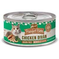 Merrick Purrfect Bistro Chicken Divan Recipe Canned Cat Food 24/5.5-oz cans