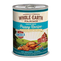 Whole Earth Farms Grain Free Canned Puppy Food, Case of 12