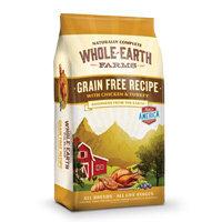 Whole Earth Farms Grain Free Chicken & Turkey Dog Food, 4 lbs.