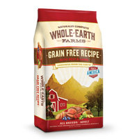 Whole Earth Farms Grain Free Beef & Lamb Dog Food, 4 lbs.