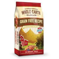 Whole Earth Farms Grain Free Beef & Lamb Dog Food, 25 lbs.