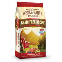 Whole Earth Farms Grain Free Beef & Lamb Dog Food, 25 lbs.