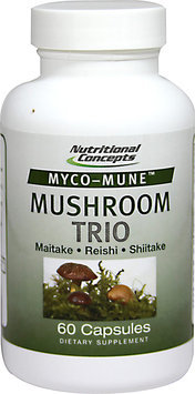 Nutritional Concepts Myco-Mune Mushroom Trio - 60 Capsules