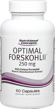 Nutritional Concepts Optimal Forskohlii - 250 mg - 60 Capsules