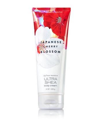 Bath & Body Works® Signature Collection JAPANESE CHERRY BLOSSOM Ultra Shea Body Cream