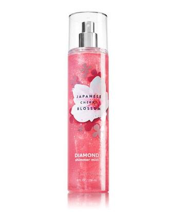 Bath & Body Works® Signature Collection JAPANESE CHERRY BLOSSOM Diamond Shimmer Mist