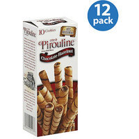DeBeukelaer Creme de Pirouline Chocolate Hazelnut Artisan Rolled Wafers