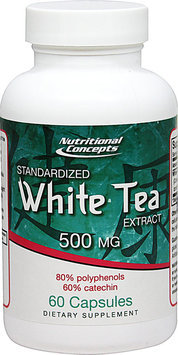 Nutritional Concepts White Tea Extract - 500 mg - 60 Capsules