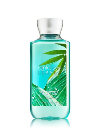 Bath & Body Works Signature Collection RAINKISSED LEAVES Shower Gel
