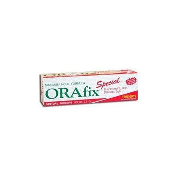 Orafix Maximum Hold Formula Denture Adhesive, Special - 3.8 oz