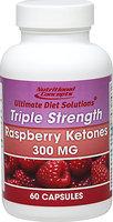 Nutritional Concepts Raspberry Ketones 300 mg-60-Capsules