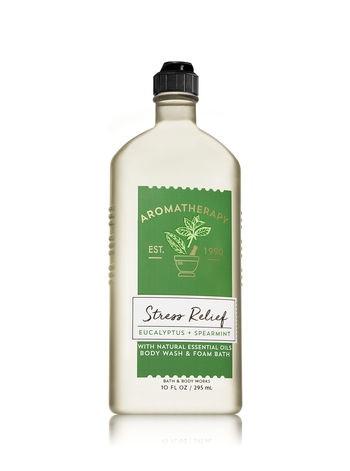 Bath & Body Works® Aromatherapy Stress Relief Eucalyptus & Spearmint Body Wash & Foam Bath