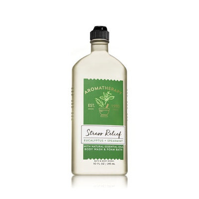 Bath & Body Works® Aromatherapy Stress Relief Eucalyptus & Spearmint Body Wash & Foam Bath