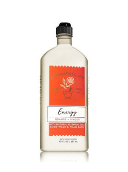 Bath & Body Works® Aromatherapy ENERGY - ORANGE & GINGER Body Wash & Foam Bath