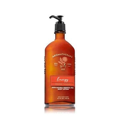 Bath & Body Works® Aromatherapy ENERGY ORANGE & GINGER Body Lotion