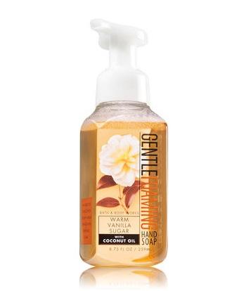 Bath & Body Works® WARM VANILLA SUGAR Gentle Foaming Hand Soap