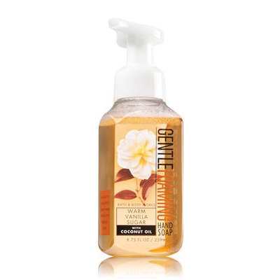 Bath & Body Works® WARM VANILLA SUGAR Gentle Foaming Hand Soap