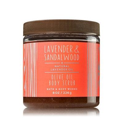Bath & Body Works® LAVENDER & SANDALWOOD Olive Oil Body Scrub