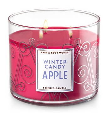 Bath & Body Works® WINTER CANDY APPLE 3-Wick Candle