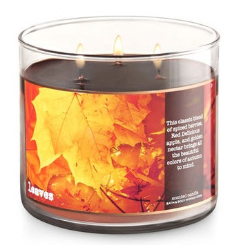 Bath & Body Works® LEAVES 3-Wick Candle