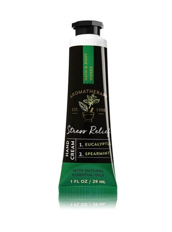 Bath & Body Works Aromatherapy STRESS RELIEF-EUCALYPTUS & SPEARMINT Hand Cream