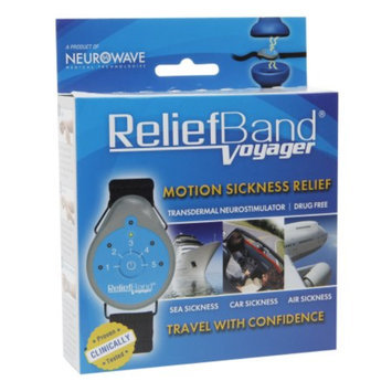Relief Band Voyager Motion Sickness Device, Reusable, 1 ea