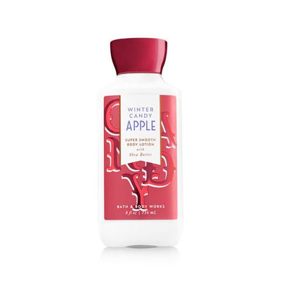 Bath & Body Works® Signature Collection WINTER CANDY APPLE Super Smooth Body Lotion