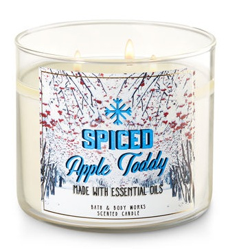 Bath & Body Works® SPICED APPLE TODDY 3-Wick Candle