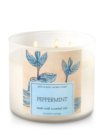 Bath & Body Works® Peppermint 3-Wick Candle