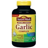 Nature Made Garlic Complex with Vitamin B6, Vitamin B12 and Folic Acid - 300 Enteric Tablets