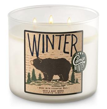 Bath & Body Works® WINTER 3-Wick Candle