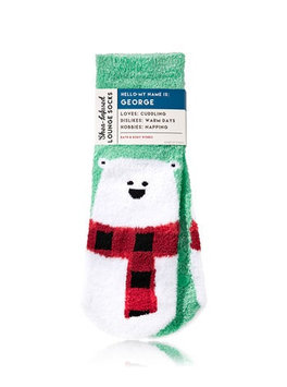 Bath & Body Works® GEORGE THE POLAR BEAR Shea-Infused Lounge Socks