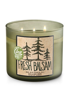 Bath & Body Works® FRESH BALSAM 3-Wick Candle