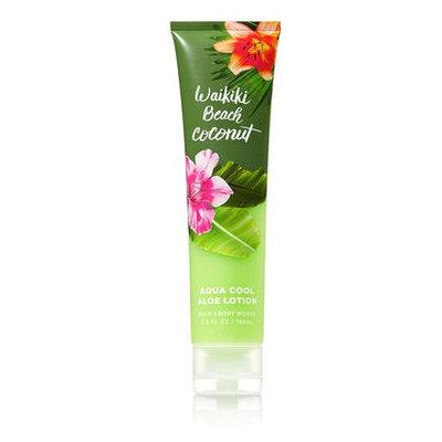 Bath & Body Works® Signature Collection WAIKIKI BEACH COCONUT Aqua Cool Aloe Lotion