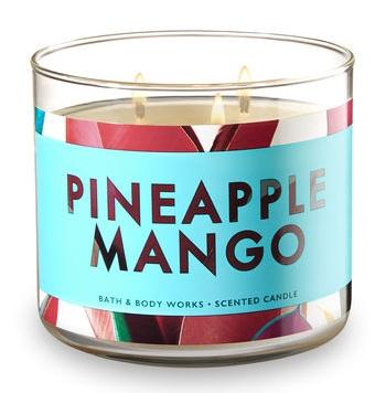 Bath & Body Works® PINEAPPLE MANGO 3-Wick Candle