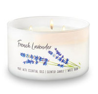 Bath & Body Works® FRENCH LAVENDER 3-Wick Candle