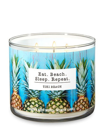 Bath & Body Works® TIKI BEACH 3-Wick Candle