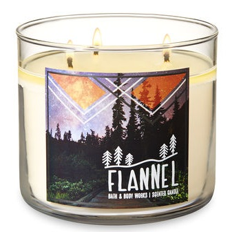 Bath & Body Works® FLANNEL 3-Wick Candle