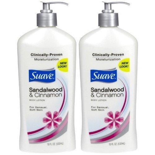 Suave Sandalwood & Cinnamon Body Lotion (1) 18 OZ Bottle