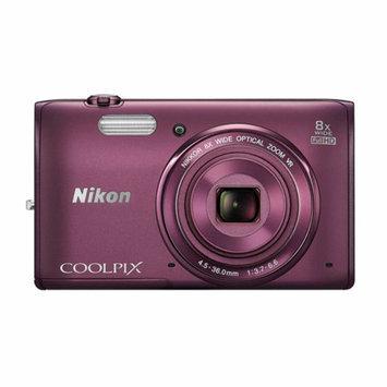 Nikon Coolpix S5300 Plum 16-megapixel Digital Camera