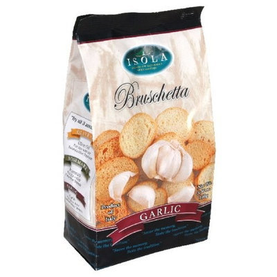 Isola Bruschette Garlic, 5.36-Ounce (Pack of 10)