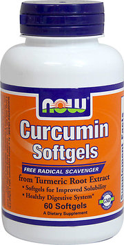 NOW Foods Curcumin from Turmeric Root Extract 475 mg-60 Softgels
